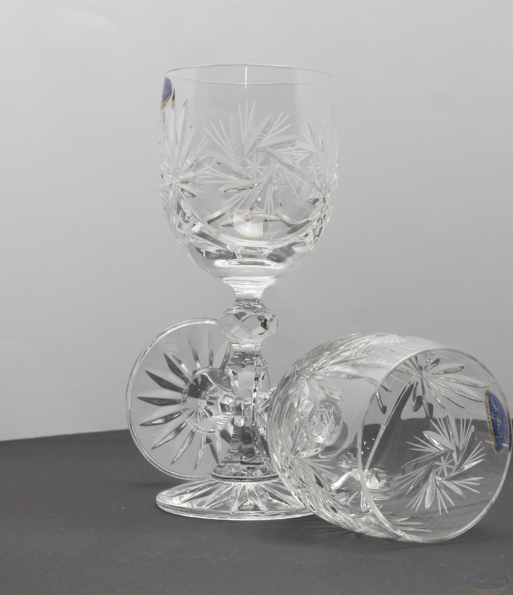 Kryształowe Kieliszki Do Wina 170ml Młynek Zph Marika